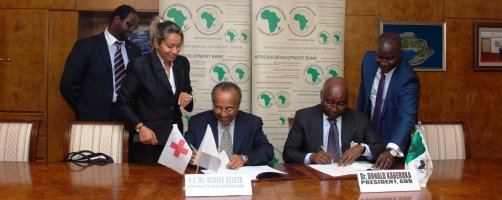 Red Cross Red Crescent and African Development Bank enter pan-African partnership on food security and disaster risk reduction