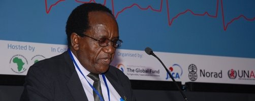 Minister of Finance of Tanzania, Hon. Dr. William A. Mgimwa (MP)