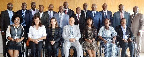 The Board Reviews 2013 Mid-Term Capacity Building Report