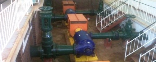 The Bushmead pump station in Masvingo will have a third pumping unit installed by the Zim Fund.