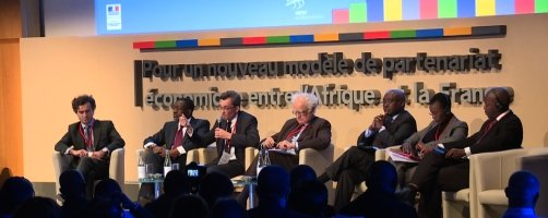 The Economic Conference of Elysee's Summit on Peace and Security in Africa