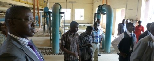 Water pumping station Ibadan City