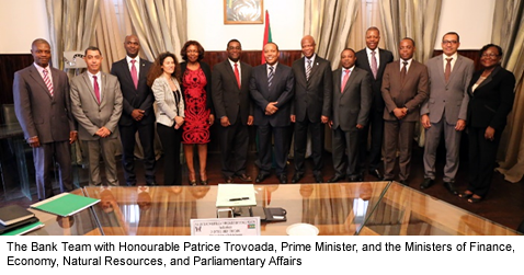 Afdb Mission To S 227 O Tom 233 And Pr 237 Ncipe To Strengthen