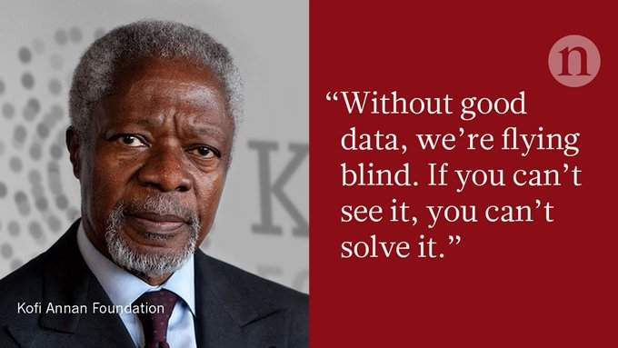 Data Can Help To End Malnutrition Across Africa Writes Kofi