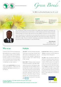 Green Bond Newsletter - Issue N°2 - July 2015