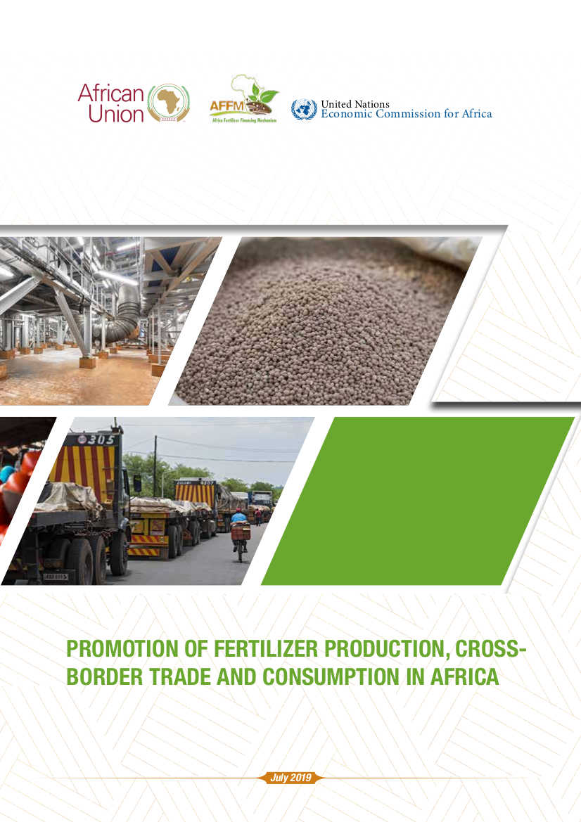 Promotion of fertilizer production, cross-border trade and consumption in Africa