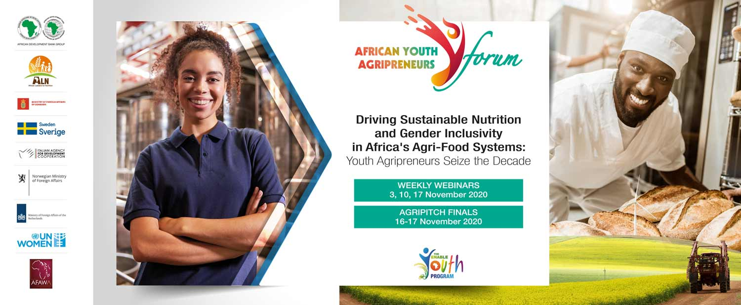African Development Bank AgriPitch Competition: $120,000 in prizes on offer during African Youth Agripreneur Forum 3-17 November
