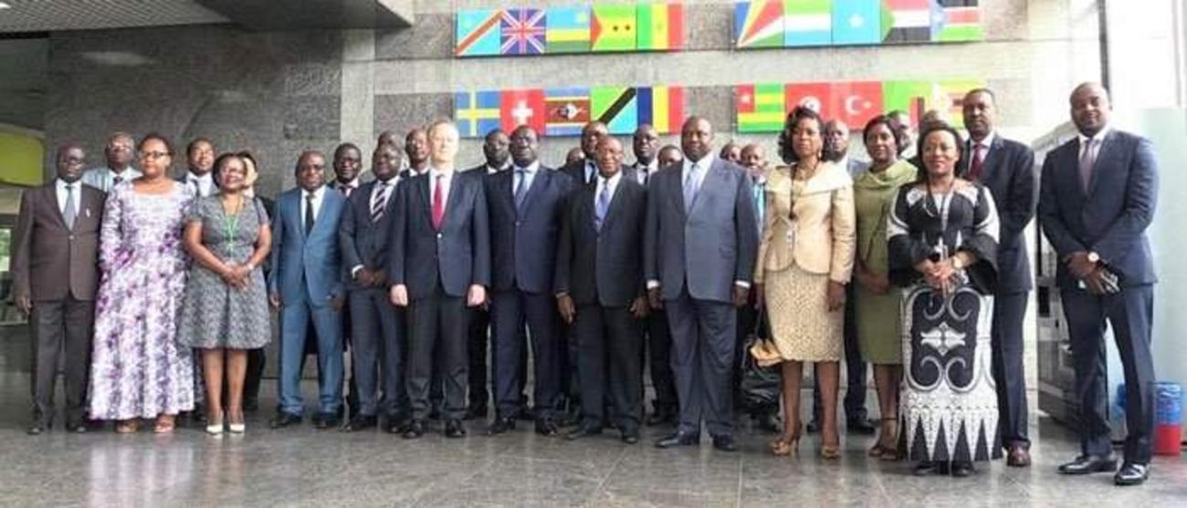 Afrique Centrale La Banque Africaine De Developpement Et La Ceeac Vont Aider A Mobiliser 2 2 Milliards De Dollars Pour Financer Deux Projets Integrateurs Dans Les Transports Banque Africaine De Developpement